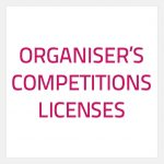 Organiser's Competition licenses